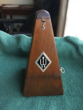 Wittner German Metronome; Dark Wood Traditional Obelisk Case; German Metronome