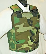 New Large IIIA  Plate Carrier Body Armor BulletProof Vest with Inserts