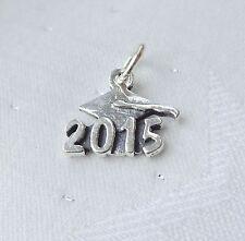 2015 ANNI CAPPELLO DA LAUREA TOCCO Ciondolo argento sterling 925