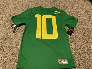 New Nike Oregon Ducks football 10 Limited jersey 2018 Stitched Men's Size: Small