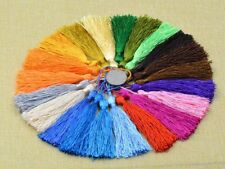 10pcs Mixed DIY Tassel Pendant Polyester Trim Craft Applique Jewelry Making A42H