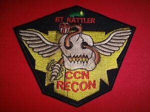 Vietnam War Patch US 5th SFGp MACV-SOG RT RATTLER CCN RECON