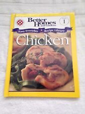 Better Homes and Gardens Volume 1 Chicken cookbook recipes hardcover