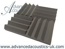 "Advanced Acoustics 12"" (305mm) Wedge PRO Acoustic Studio Foam 24 Tiles 0.95 NRC"