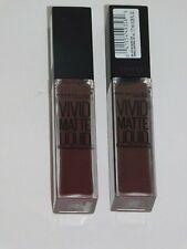 Maybelline Vivid Matte TWO Color Sensational # 38 Smoky Rose Liquid Lip Color