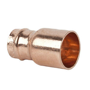 Quality Copper 22mm x 15mm Solder Ring/Yorkshire Reducers. free P&P