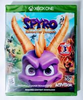 Spyro Reignited Trilogy Xbox One 2018 Activision Microsoft 3 Games New Sealed
