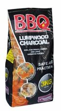 3kg Lumpwood Charcoal Bag Summer Fire Pit Fuel BBQ Grilling Cooking Barbecue