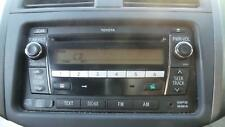 TOYOTA RAV4 RADIO/CD/DVD/SAT/TV RADIO/CD, W/ BLUETOOTH TYPE, ACA33, 11/05-12/12