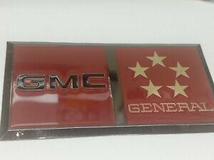 GMC GENERAL CAB EMBLEMS.(M4)