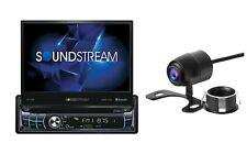 Soundstream 1 Din VR-720B-C DVD/CD Player Flip Up 7