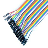 5 x Messleitungen  Klemmprüfspitzen mit 20cm Kabel Prüfkabel Buchse Dupont