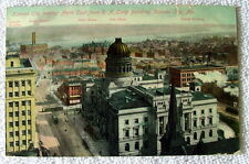 1910 POSTCARD KANSAS CITY LOOKING NORTH EAST FROM R.A. LONG BUILDING MISSOURI #d