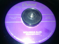 Ray Anthony Wolverine Blues What Is This Thing Called Love Capitol 45rpm rare
