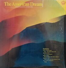 THE AMERICAN DREAM GREAT FOLK SONGS AND BALLADS LP 1981 V/A W/SHRINK NM!!!