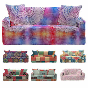Elastic Sofa Slipcovers 1 2 3 4 Seater Covers Slip Cover Furniture Chair Couch