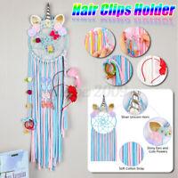 Personalised Girls Hair Bows Hanger Headband Holder Hair Accessories Tidy