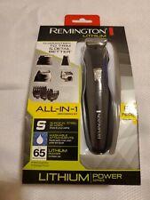Remington PG6025 All-in-1 Lithium Powered Grooming Kit, Beard Trimmer (8 Pcs) B4