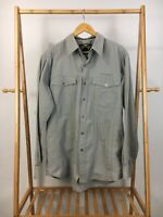 Harley-Davidson Men's Button Front Long Sleeve Casual Riding Shirt Size M