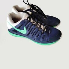 Nike Vapor 9 Tour Sneakers Navy Blue Green White Sz 10 US 44 EUR