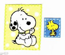 New listing Baby snoopy fabric applique iron on marbles & woodstock set 2 inch