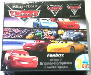Cars Fanbox 3 CD' s    Neu & OVP