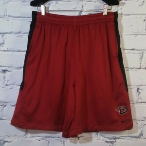 Nike Fit-Dry Shorts MLB Arizona Diamondbacks Embroidered D Snake Logo Men's XXL