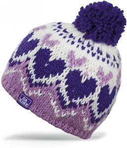 Dakine Kids Molly Beanie Hat Purple