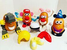 Mr Potato Head Lot Dinosaur Mickey Starwars Minnie Marvel Parts 49 Pieces