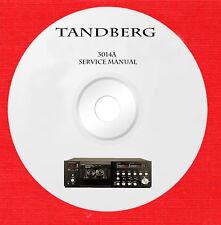Tandberg TCD 3014A Repair Service manual on 1 cd in pdf format