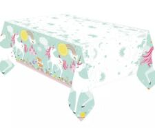 Magical Unicorn Children Birthday Party Table Cover Table Cloth Tablecover