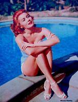 Pinup Lithograph Rhonda Fleming 1955 VTG Ray Jones Original Litho Promo Photo