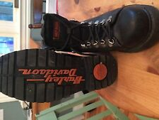 Harley Davidson motor cycle boots NEVER USED