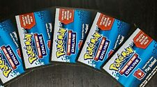 X5 Pokemon TCG Noble Victories Online Booster Pack UN-USED Codes *Ebay Message*