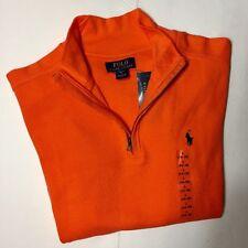 POLO RALPH LAUREN Boy's French Rib Cotton Pullover Sweatshirt L (14-16) NWT
