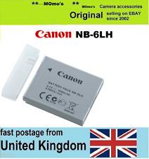 Genuine CANON Battery,NB-6LH PowerShot SX710 SX610 SX520 SX530 SX540 HS S120