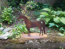 Araber Pferd Gartendeko Edelrost
