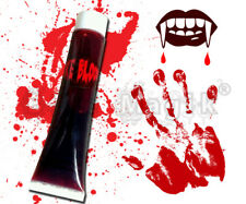 Vampire Zombie Dracula Gore Fake Blood Tube 28.3 gm Stage Make Up Halloween