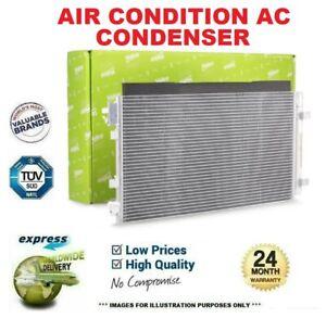 VALEO AIR CONDITION AC CONDENSER for VAUXHALL VIVARO Combi 2.0 CDTI 2006-2014