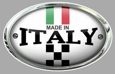 """Made in ITALY """" VESPA """" Sticker Trompe l'oeil"""
