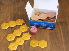 Hexagon Floating Wicks Large Pack of 50 Wicks For Lighting Oil Candles Decorativ