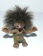 Vtg Original NyForm Handmade Norway Troll Little Guy Boy Happy Tag