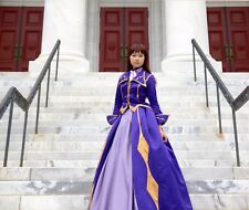 Lelouch Zero Code Geass Female Cosplay Costume Dress Ballgown Handmade XS S