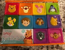 Disney Baby 10 Soft Blocks Winnie The Pooh