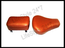 Royal Enfield Leather Sprung Front And Pillion Seat