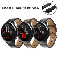 Replacement Leather Watch Bracelet Strap Band For Xiaomi Huami Amazfit A1602 NEW