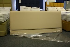 Hypnos WALDEN Strutted Headboard 180 CM super king size CARAMEL