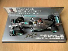 F1 1/43 Minichamps Michael Schumacher Mercedes W02 Belgian GP #47