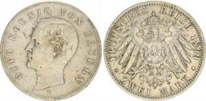 Bayern 2 Mark Otto 1899 D ss-vz 48458