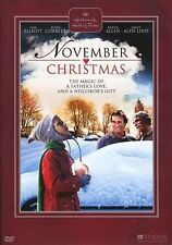 NOVEMBER CHRISTMAS (Sam Elliott - Hallmark) -  DVD - PAL Region 2 sealed